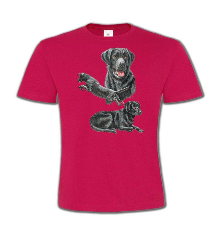 T-Shirts Col Rond EnfantsLabradorLabrador noir (C)