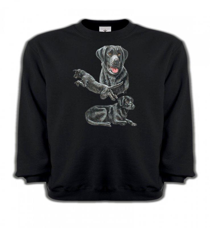 Sweatshirts EnfantsLabradorLabrador noir (C)
