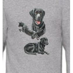 Sweatshirts Sweatshirts Unisexe Labrador noir (C)
