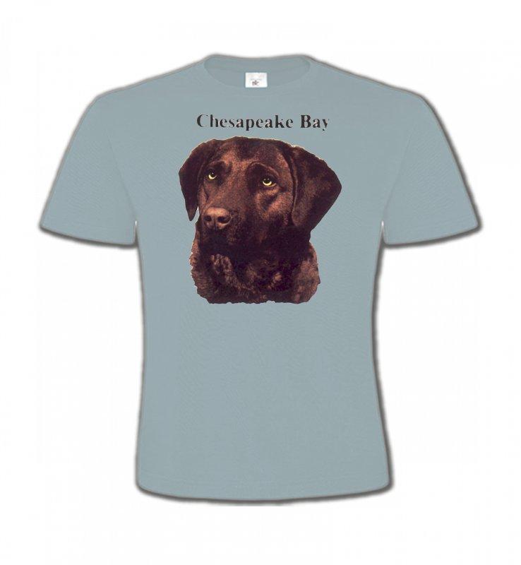 T-Shirts Col Rond EnfantsLabradorLabrador chocolat (G)