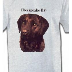 T-Shirts Races de chiens Labrador chocolat (G)