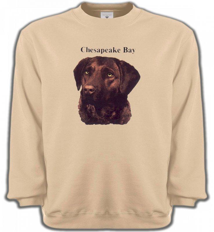 Sweatshirts UnisexeLabradorLabrador chocolat (G)
