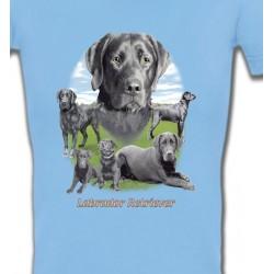 T-Shirts Races de chiens Labrador paysage gris paysage (O)
