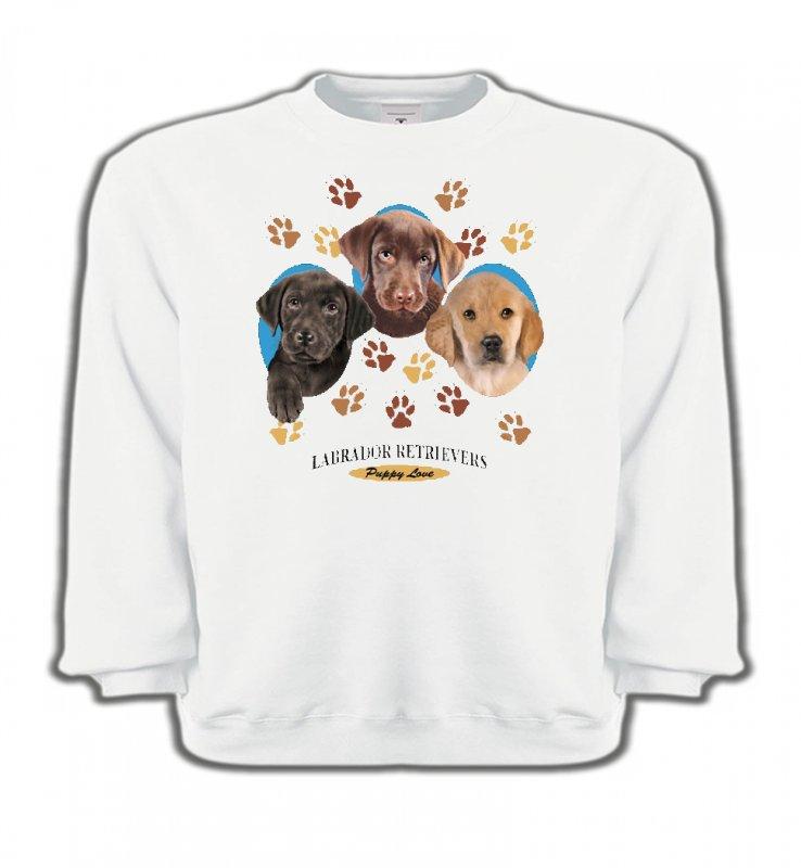 Sweatshirts EnfantsLabradorBébés Labradors (U)