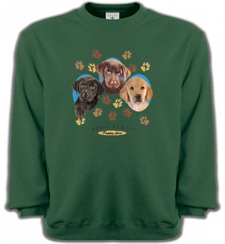 Sweatshirts UnisexeLabradorBébés Labradors (U)