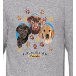 Sweatshirts Sweatshirts Unisexe Bébés Labradors (U)