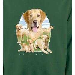 Sweatshirts Sweatshirts Unisexe Labrador paysage sable  (R)