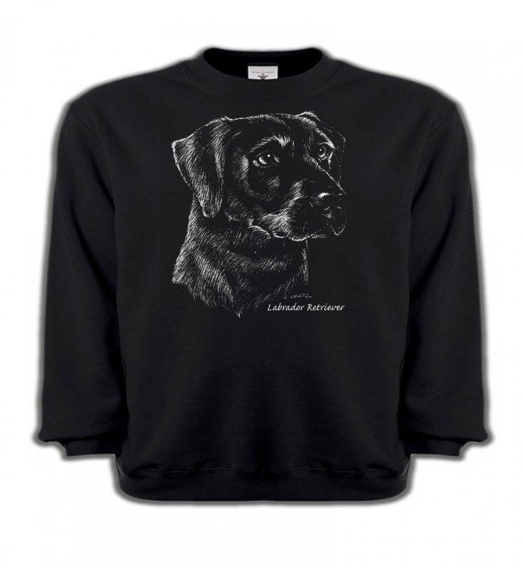 Sweatshirts EnfantsLabradorLabrador noir  (X)