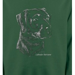 Sweatshirts Sweatshirts Unisexe Labrador noir  (X)