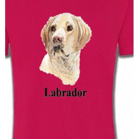 Tête de Labrador sable  (S)