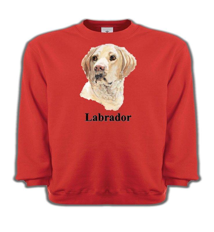 Sweatshirts EnfantsLabradorTête de Labrador sable  (S)