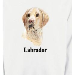 Sweatshirts Sweatshirts Unisexe Tête de Labrador sable  (S)
