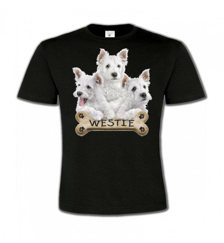 T-Shirts Col Rond EnfantsWestieWestie (E)