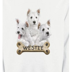 Sweatshirts Races de chiens Westie (E)