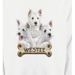 Sweatshirts Sweatshirts Unisexe Westie (E)