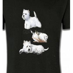 T-Shirts Westie Westie (H)