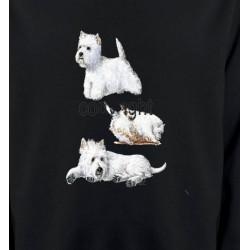 Sweatshirts Sweatshirts Unisexe Westie (H)
