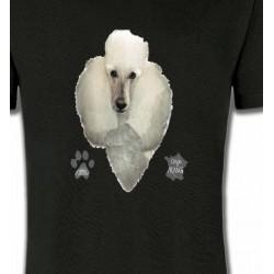 T-Shirts Races de chiens Caniche (E)