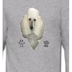 Sweatshirts Races de chiens Caniche (E)