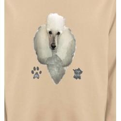 Sweatshirts Sweatshirts Unisexe Caniche (E)