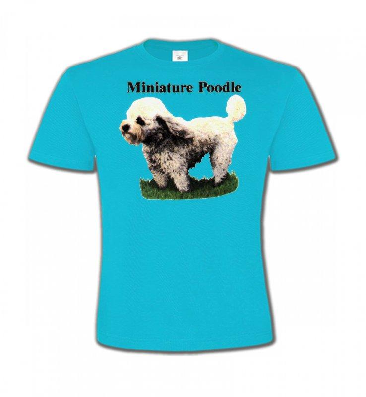 T-Shirts Col Rond EnfantsCanichesCaniche nain (B)