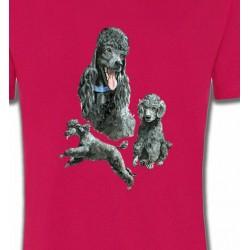 T-Shirts Caniches Caniche gris (L)