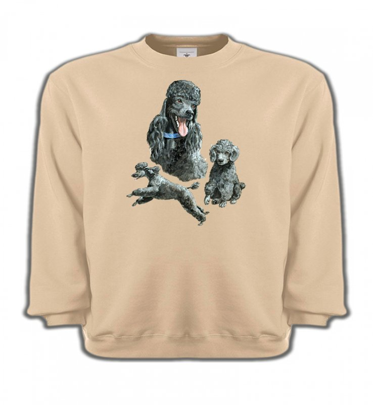 Sweatshirts EnfantsCanichesCaniche gris (L)