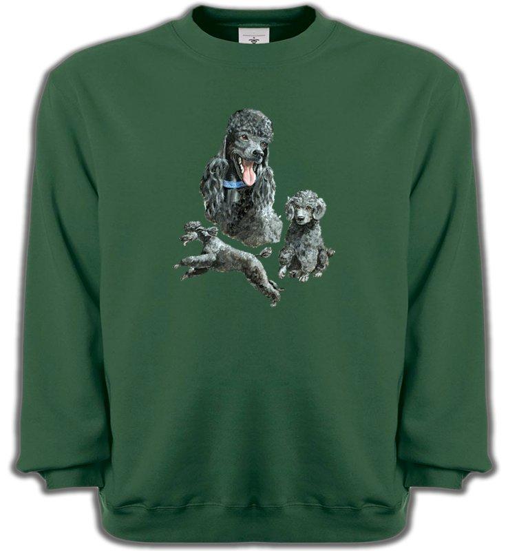 Sweatshirts UnisexeCanichesCaniche gris (L)
