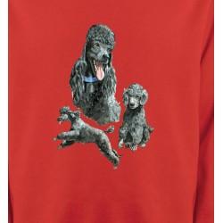 Sweatshirts Sweatshirts Unisexe Caniche gris (L)
