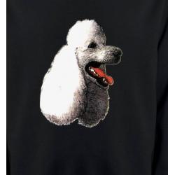 Sweatshirts Races de chiens Tête de caniche (F)