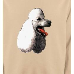 Sweatshirts Sweatshirts Unisexe Tête de caniche (F)