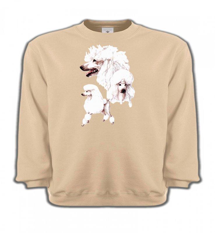 Sweatshirts EnfantsCanichesCaniche blanc (N)