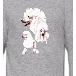Sweatshirts Sweatshirts Unisexe Caniche blanc (N)