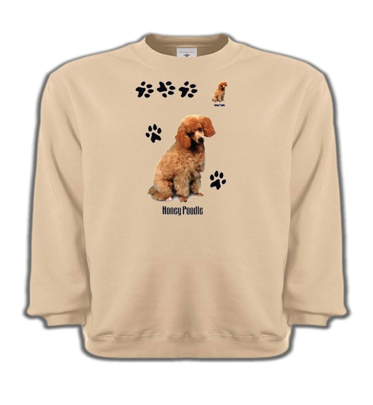 Sweatshirts EnfantsCanichesCaniche miel  (P)