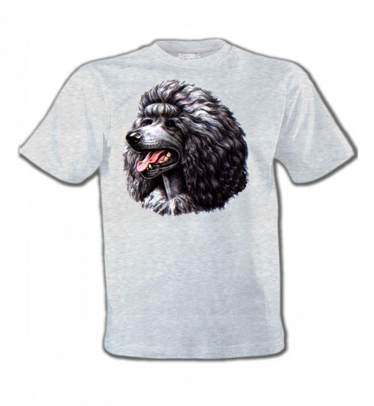 T-Shirts Col Rond EnfantsCanichesCaniche noir (Q)