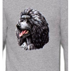 Sweatshirts Sweatshirts Unisexe Caniche noir (Q)