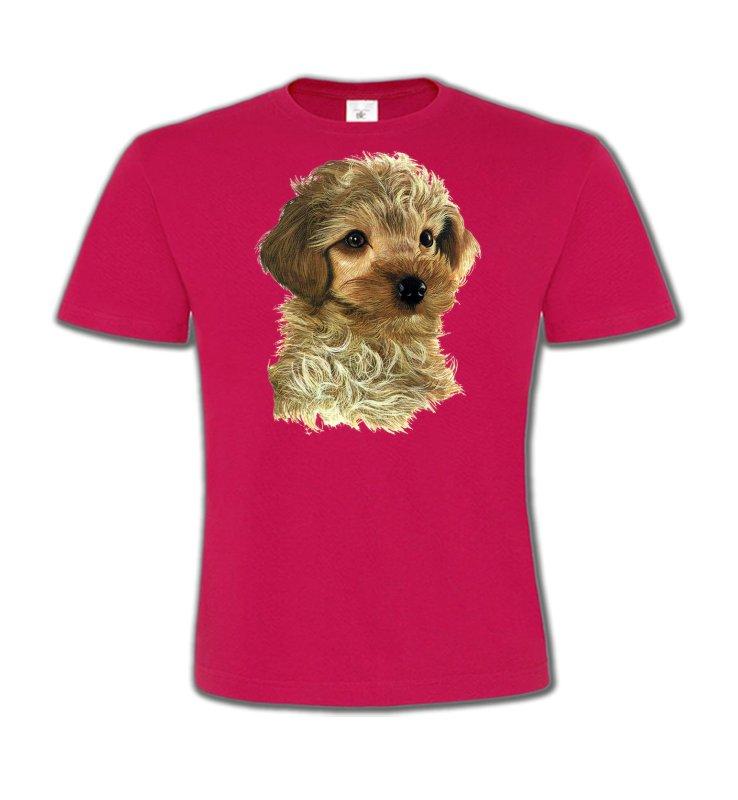 T-Shirts Col Rond EnfantsCanichesBébé caniche