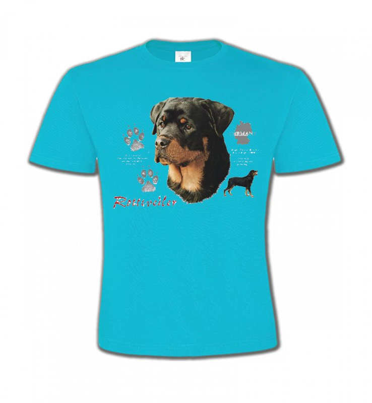 T-Shirts Col Rond EnfantsRottweilerRottweiler (F)
