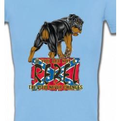T-Shirts Races de chiens Rottweiler Rebel  (A)