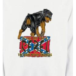 Sweatshirts Sweatshirts Unisexe Rottweiler Rebel  (A)