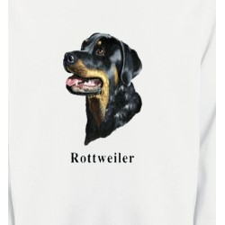 Sweatshirts Races de chiens Tête de Rottweiler (G)