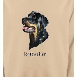 Sweatshirts Sweatshirts Unisexe Tête de Rottweiler (G)