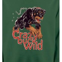 Sweatshirts Races de chiens Rottweiler sauvage (K)