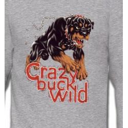 Sweatshirts Sweatshirts Unisexe Rottweiler sauvage (K)