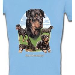 T-Shirts Races de chiens Rottweiler Paysage (C)