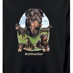 Sweatshirts Races de chiens Rottweiler Paysage (C)