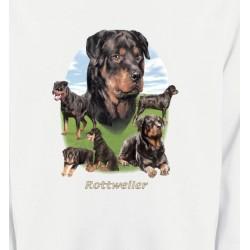 Sweatshirts Sweatshirts Unisexe Rottweiler Paysage (C)