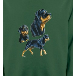 Sweatshirts Sweatshirts Unisexe Rottweiler (D)