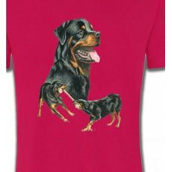 T-Shirts Races de chiens Rottweiler (E)