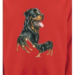 Sweatshirts Races de chiens Rottweiler (E)